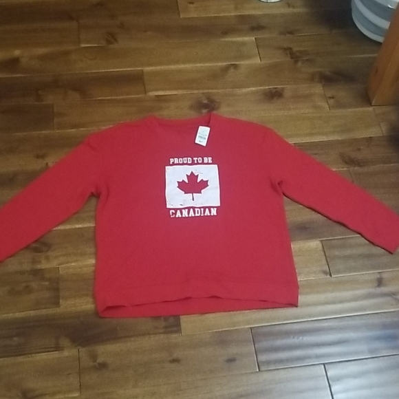 Proud to be Canadian sweater